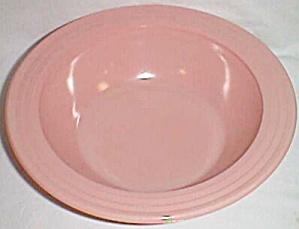 Hazel Atlas Moderntone Pink Serving Bowl (Image1)