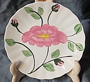 Blue Ridge Pottery Bread Butter Plate Rock Rose (Image1)