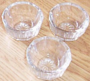 Set of 3 Antique Individual Salts (Image1)