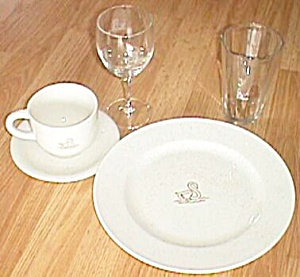 4 Schwans 5 Piece Dinner Set 20 Pieces in all (Image1)