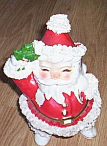 Vintage Napco Santa Figural Planter (Image1)