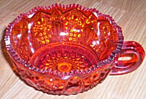 Amberina  Handled Bowl Smith Glass Quintec (Image1)