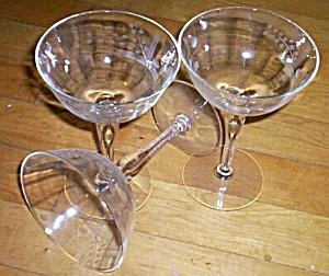 3 Deco Champaign Stems (Image1)