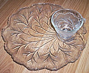 4 Indiana Pebble Leaf Snack Sets (Image1)