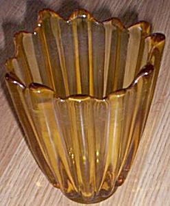 Fostoria Celestial Sun Gold Vase (Image1)