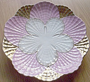 Stunning Porcelain Serving Plate Large Flower (Image1)