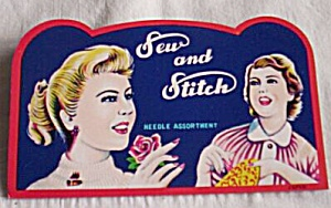Vintage Sew And Stitch Needle Book