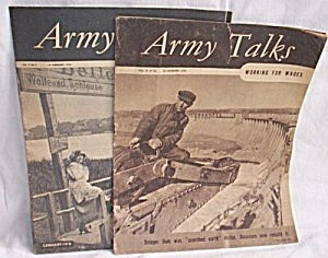 3 Army Talks Magazines 1945-1946 (Image1)