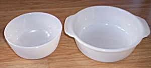 Fire King Casserole and Bowl (Image1)