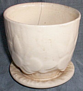 McCoy Violet Pot with Saucer (Image1)