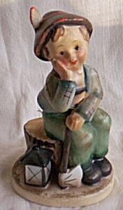 vintage napco figurine tired  image1