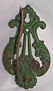 Cast Iron Hanging Receipt Hook (Image1)