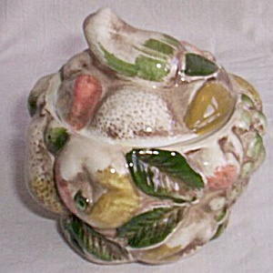 Lefton Fruit Shaped Sugar Dish
