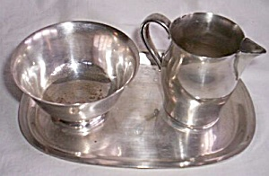 Paul Revere Reproduction Cream Sugar Set (Image1)