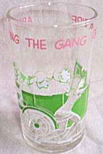 Archie and the Gang Drinking Glass (Image1)