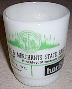 Fire King Hinckley Minnesota Advertising Mug (Image1)