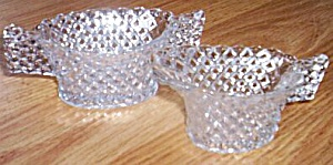 English Hobnail Small Cream Sugar Set (Image1)