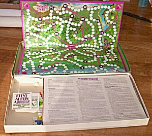 Parker Brother Bionic Woman Board Game (Image1)
