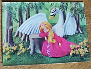 Rare 3D Postcard The Swan Prince (Image1)