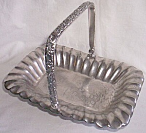 Homan Silver Plated Brides Basket