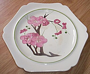 Red Wing Plate Plum Blossom Dynasty