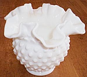 Fenton Hobnail Rose Bowl (Image1)