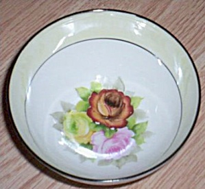 Noritake Bowl Rose Hand Painted (Image1)