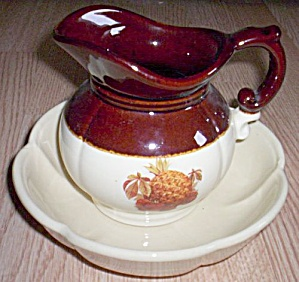 Mccoy Pitcher And Basin Set #7528