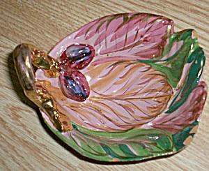 Vintage Italian Art Pottery Nappy (Image1)