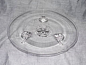 Lancaster 3 Footed Tidbit Tray