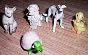 Lot 5 Vintage Miniature Animals (Image1)