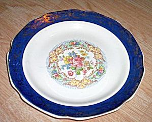 Stetson Madam Du Barry Royal Blue Dinner Plate (Image1)