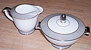 Sango Platina Cream and Sugar (Image1)