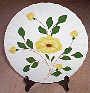 Blue Ridge Luncheon Plate Yellow Nocturne (Image1)