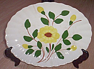 Blue Ridge Platter Yellow Nocturne (Image1)