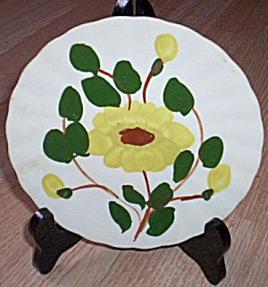 Blue Ridge Bread and Butter Plate Yellow Nocturne (Image1)