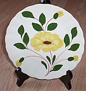 Blue Ridge Salad Plate Yellow Nocturne
