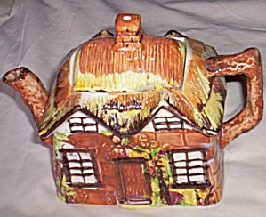 Cottage Ware Teapot Ye Olde cottage Price Bros. (Image1)