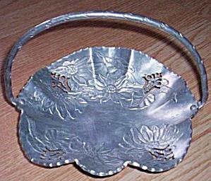 Farber & Shlevin Hand Wrought Aluminum Basket (Image1)