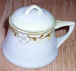 Antique Porcelain Nippon Jam Pot (Image1)