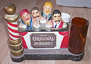 Unique Metal Barber Stand for Combs Razors (Image1)