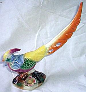 Vintage Japanese Pheasant Figurine (Image1)
