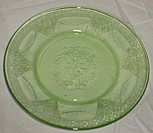 Federal Glass Parrot Bread Butter Plate (Image1)