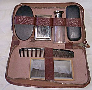 Antique Man's Grooming Set