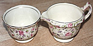 James Kent Chelsea Rose Creamer Sugar (Image1)