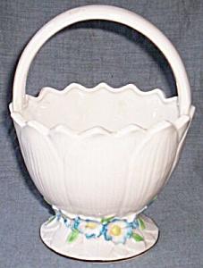 Maruhomware Blue Pansy Basket (Image1)