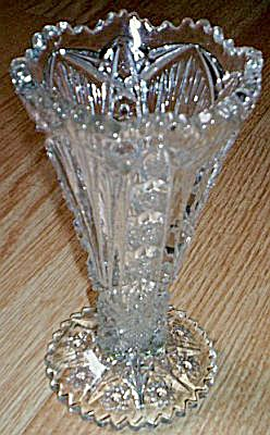 Imperial Diamond and Fan #212 Bud Vase (Image1)