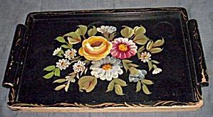 Vintage Toleware Tray (Image1)