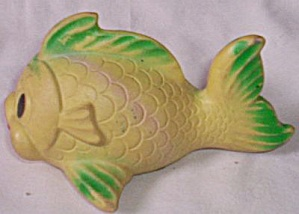 Vintage Rubber Squeaky Fish Toy