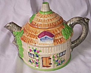 Shibakawa & Co. Majolica Teapot Tea Pot (Image1)
